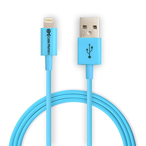 Cable Matters® Apple MFi-Certified Lightning auf USB Kabel Blau 2m (Ipod Nano 4g Fall)