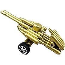 Escultura-Atracciones casquillos de bala de recuerdos calientes artesanía regalos hechos a mano pistola de aire comprimido de cañón 53 pares de longitud 21cm * 12cm de ancho * altura de 8 cm