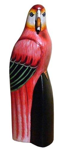SITTICH Vogel Tier Holz Kakadu Papagei02 - Kakadu-maske