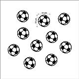 GLYOUNG Wandaufkleber Tapete Bunte Fußball Fußball Wandaufkleber Für Kinderzimmer Jungen Schlafzimmer Kunst Vinyl Kinder Wandaufkleber Kinderzimmer Home Decor