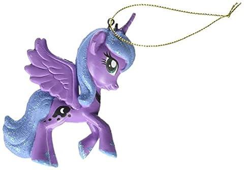 3.75my Littl Pony Luna/rainbw by Kurt Adler