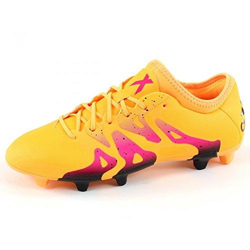 Scarpe Da Calcio Adidas Mens X 15.2 Fg / Ag Oro