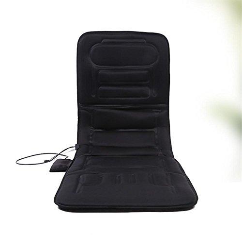 SHISHANG Multifunktions erhitzt Massagematratzen Auto Massage Automatten ältere Gesundheit Massagegeräte zu Hause Sofa Matten faltbar schwarz Größe 170 * 56 * 5cm