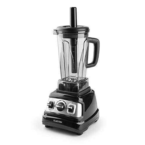 Klastein Herakles-3G V2 • Mixer ad alte prestazioni • Frullatore • Smoothies • zuppe • 1500 watt • Senza BPA • 32.000 giri/min • Capacità 2 litri • Funzionamento a impulso • 6 lame • rosso