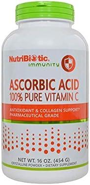 NutriBiotic, Immunity, Ascorbic Acid, 100% Pure Vitamin C, 16 oz (454 g)