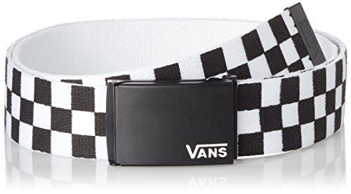 Vans Herren Gürtel Deppster Ii Web Belt, Schwarz (Black/White), One Size