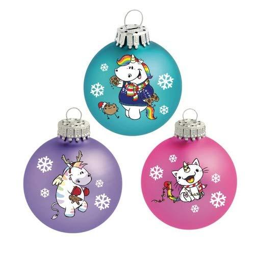 Pummel & Friends - Weihnachtskugeln (X-Mas) - Pummel & Friends (3er Set)