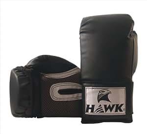 Hawk Boxing Glove, 10oz (Black)