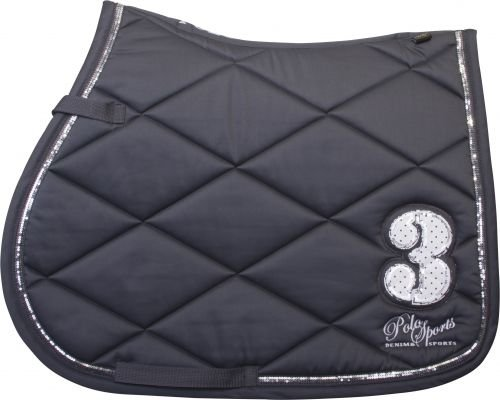 HV Polo Saddle Pad Mareon Schabracke VS und DR Black