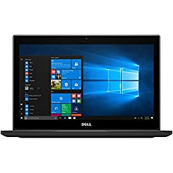 "Dell Latitude 7280 PC portable 12,5"" Full HD Noir (Intel Core i5, 8 Go de RAM, SSD 256 Go, Intel HD 620, Windows 10 Professionnel)"