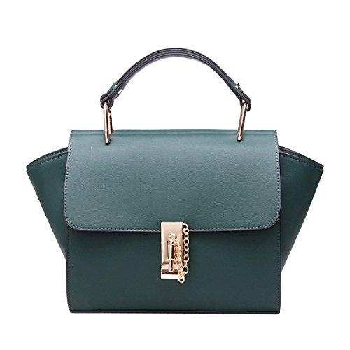 Yy.f Nuovo Modo Borsa Di Modo Borsa Pacchetto Spalla Ms. Diagonale Elegante Allesterno Allinterno Pratico. 3 Colori Green