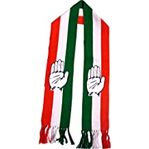 Congress party Flag coluor scarf printed