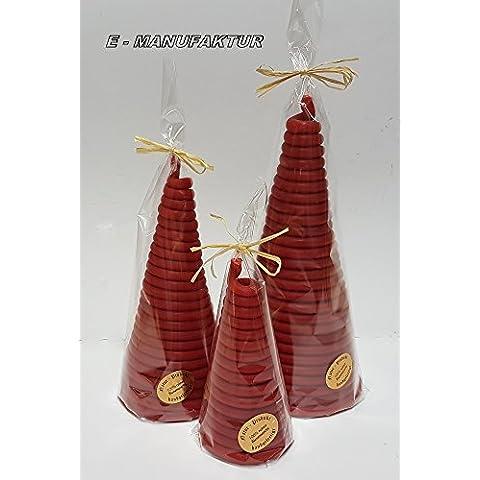 A Cono candele a forma di bastoncini di cera, filo in diverse misure e colori come luce vittima o per occasioni speciali. (8mm/120mm, ROSSO)