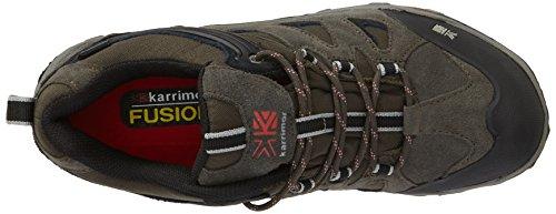 Karrimor Toledo Weathertite, Chaussures de Randonnée Basses homme Noir (black/pewter)