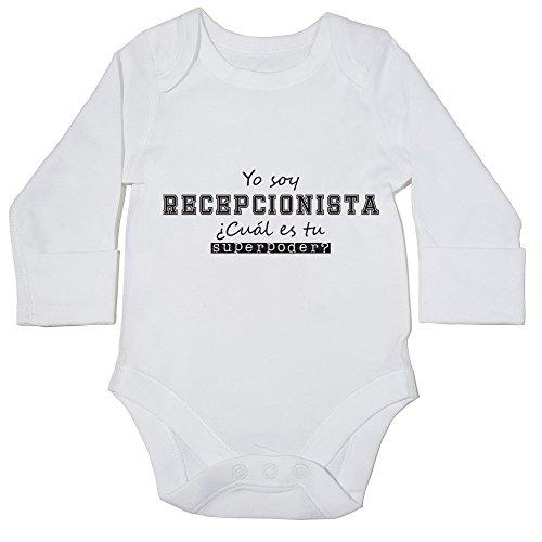 hippowarehouse-yo-soy-recepcionista-cual-es-tu-superpoder-momento-body-manga-larga-bodys-pijama-nino