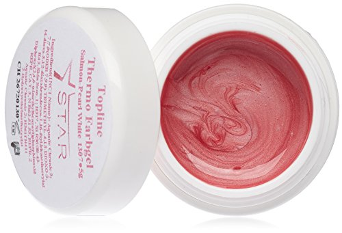 Star Naildesign & Cosmetics UV Gel Topline Thermique Couleur Salmon-Pearl White 5 ml