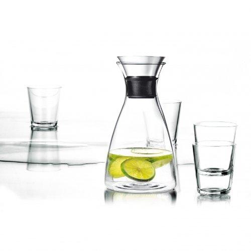 Eva Solo Karaffe 1,0 Liter mit 4 Gläsern, je 250 ml Eva Solo Set