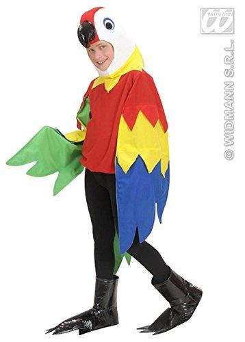 Papagei Kostüm Kid - Sancto Childrens Papagei Kostüm Kostüm Medium (8-10 Years)