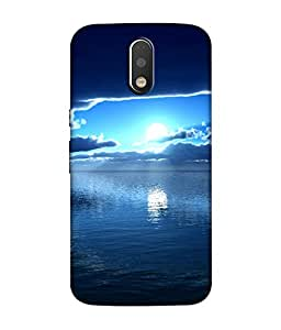 chnno nature 3d Printed Back Cover For Motorola Moto G4 Play