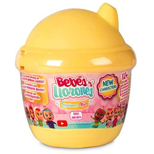 IMC Toys- Bebés Minibebé Llorones Lágrimas Mágicas, Multicolor, Bibe Casita - Surtido (98442)