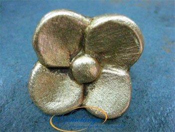 Blattgold groß 75 mm - Qualität aus Europa seit 1998 (Blattgold Zubehör)