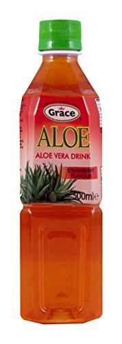 Grace - Aloe Vera Drink - Strawberry Flavour - 500ml