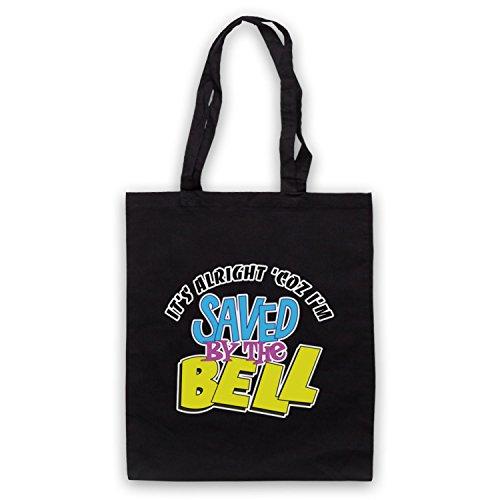 Inspiriert durch Saved By The Bell It's Alright Inoffiziell Umhangetaschen Schwarz