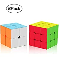 Roxenda Speed Cube,Cube Puzzle Training Toys Easy Solve and Smooth Play