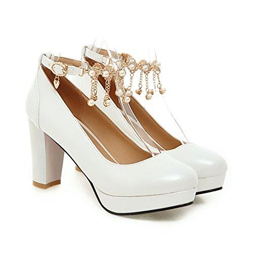 Adee, Chaussures À Talons Femme Blanche