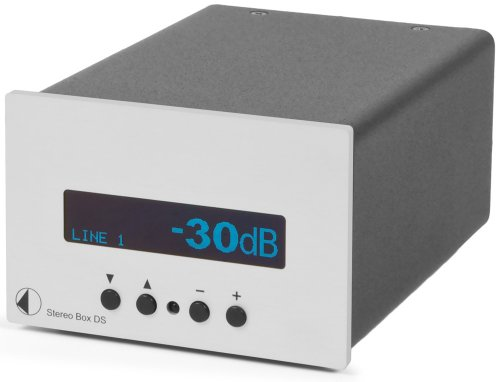 Pro-Ject - Amplificador Pro-Ject - Stereo Box DS plata