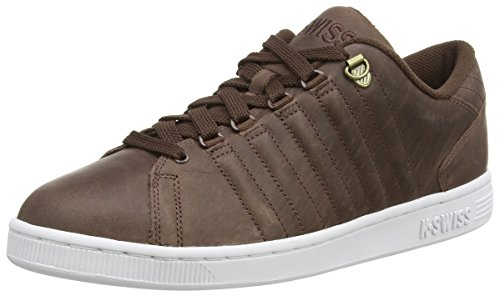k-swiss-lozan-iii-zapatillas-para-hombre-marrn-chestnut-blanco-talla-7-uk-41-eu