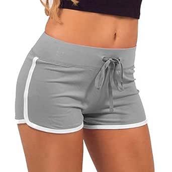Avaatar Women's Cotton Yoga Shorts