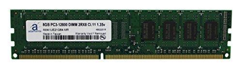 adamanta 8GB (1x 8GB) Desktop Speicher für Acer Aspire, ASUS Vivopc, Dell Alienware, Inspiron, Optiplex, HP Envy, Pavilion, Lenovo Serie, ThinkCentre DDR3L 1600MHz PC3L UDIMM 2RX8CL111,35V RAM
