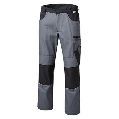 XXL Pionier Workwear Bundhose grau/schwarz, deutsche Größe:58