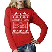Christmas is Coming Weihnachtspullover Damen für GOT Fans