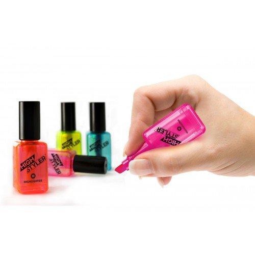 Textmarker Schreibfarbe: neongelb, neonorange, neonpink, türkis...