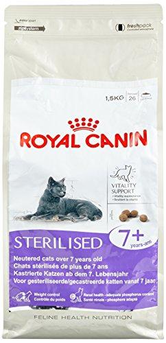 Royal Canin Féline Health Nutrition Sterilised + DE 7 Ans - 10 kg,