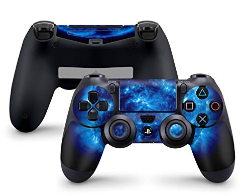 Skins4u Sony Playstation 4 Skin PS4 Controller Skins Design Sticker Aufkleber styling Set auch für Slim & Pro - Big Blue Giant