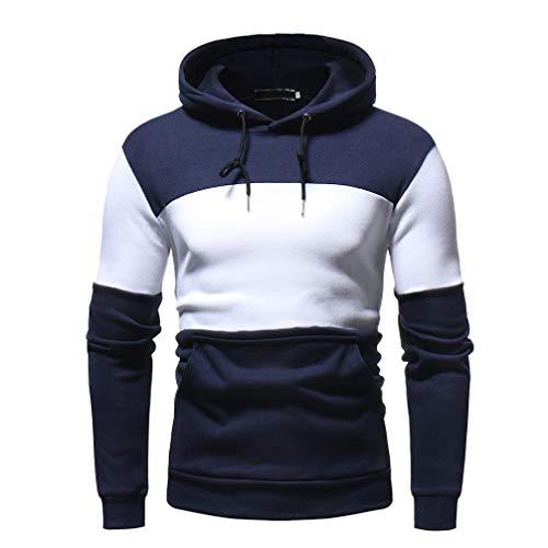Sudadera Campus Cremallera Royal para Hombre, BBestseller Sudadera con Capucha para Hombre,Sweater Hombre Camiseta