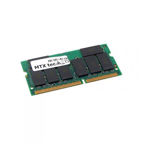MTXtec 256MB Notebook Arbeitsspeicher SODIMM SDRAM PC100, 100MHz 144 pin -