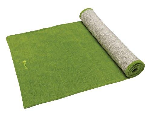 gaiam-grippy-yoga-mat-towel-apple-green