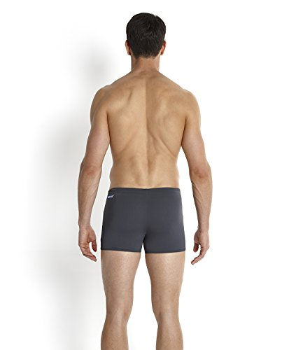 Speedo Herren Badeanzug Monogram Aquashorts Oxid Grey/Fresh Water