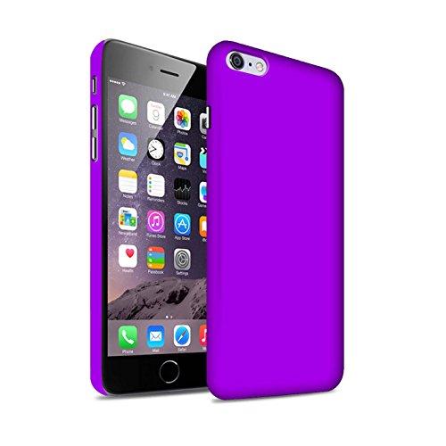 STUFF4 Matte Snap-On Hülle / Case für Apple iPhone 7 Plus / Hellblau Muster / Farben Kollektion Lila