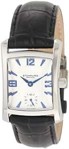 Stührling 145l12152Montre Hommes Mouvement à Quartz avec Bracelet en cuir
