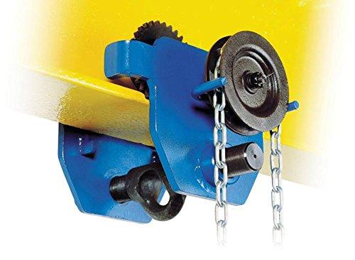 tractel amz1023027corso Geared Girder/fascio Trolley da viaggio, 1Tonnellate, larghezza: 58mm-220mm