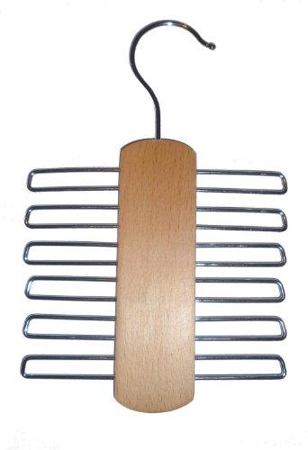 Kleiderbgel-2-Stk-Krawattenhalter