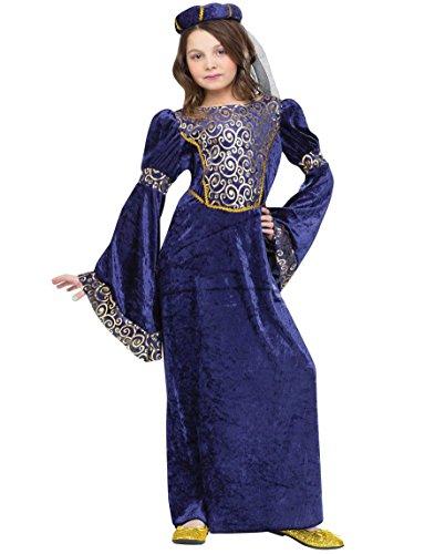 Unbekannt Fun World 122952L Mädchen Court Lady Kostüm Gr. ()