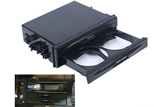 Sunshine Fly Universal Auto Doppel Din Radio Tasche Getränkehalter Aufbewahrungsbox Kit für die meisten Auto Größe 17,5 x 12,5 x 4,5 cm