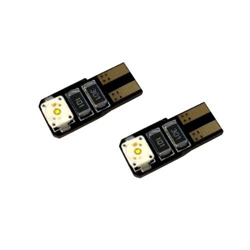 T10C2WP - Bianco Can Bus POWER Osram LED SMD lampada lampadina di ricambio luci di posizione W5W T10 12V luce targa Illuminazione interna (No Error)