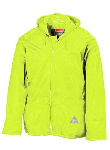 Regenanzug ( Jacke und Hose), absolut wasserdicht ,neon yellow, XL XL,Neon Yellow